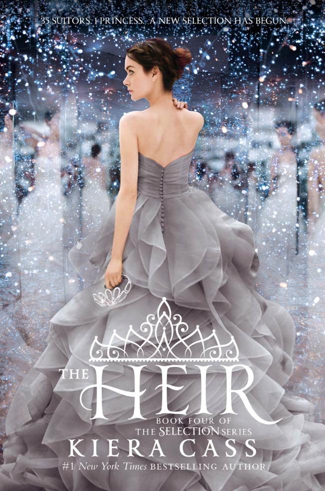 the heir by Kiera Cass.
