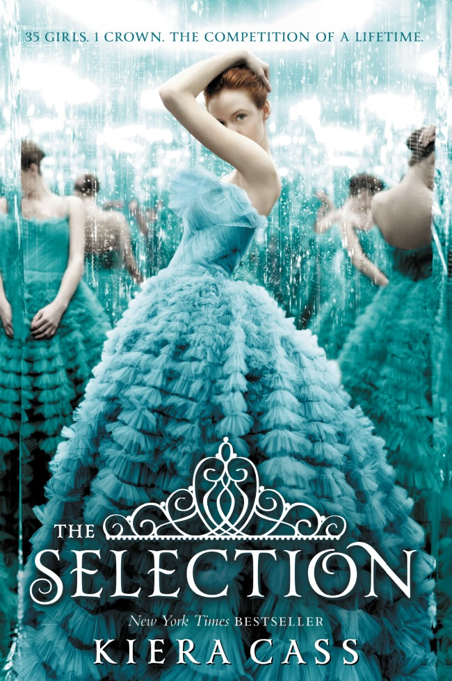 The selection by Kiera Cass, a young adult romance where the selected compete to marry the prince