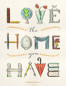 love the home you have by melissa stevens