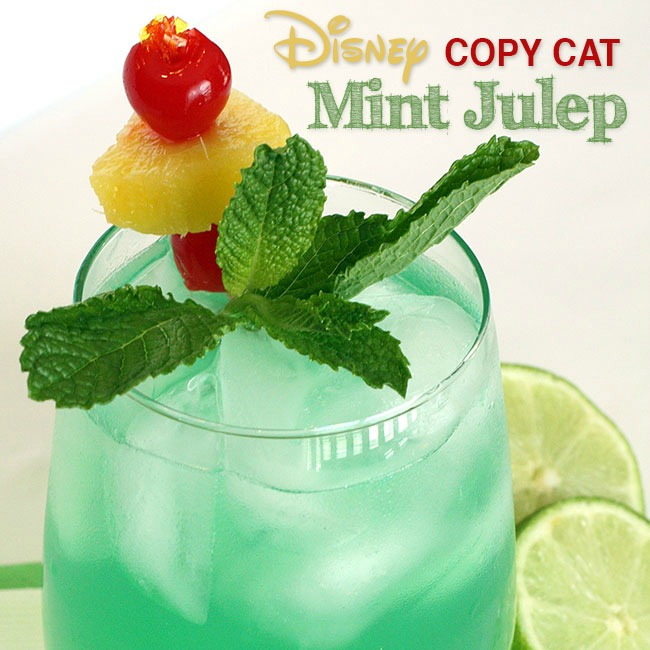 mint julep recipe from curly crafty mom
