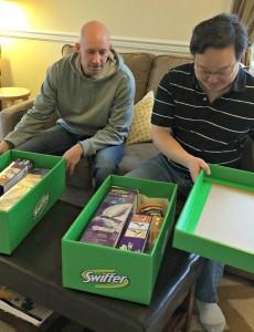 #swifferdad, big green boxes