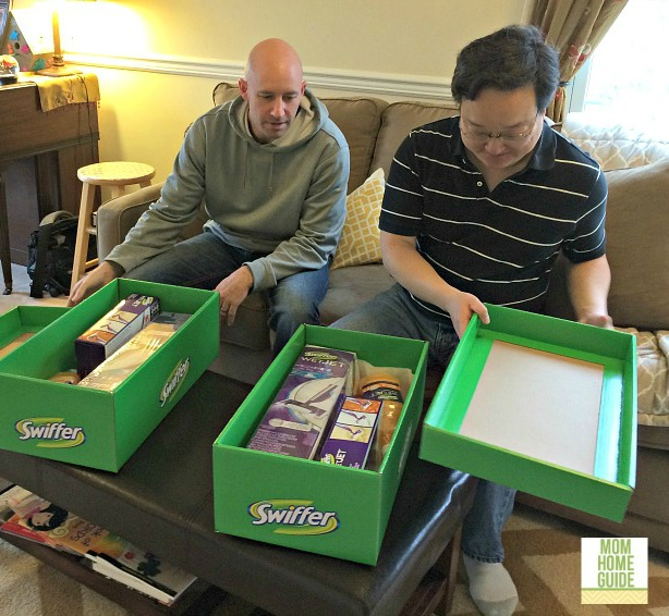#swifferdad, big green boxes