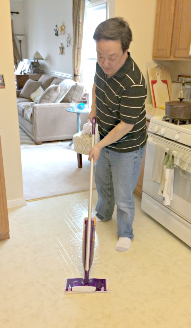 #swiferdads, Swiffer Wet Jet mop
