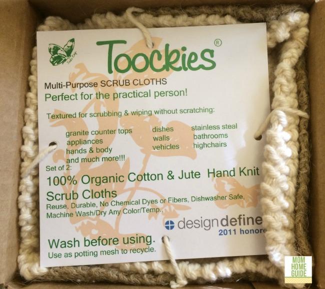 organic cotton and jute dish cloths