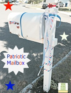 Diy patriotic mailbox with velcro