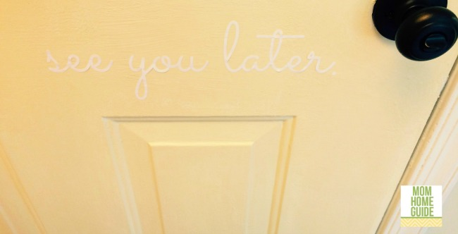 see you later vinyl door decal