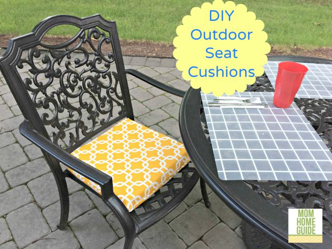 Stupendous Diy Outdoor Seat Cushions Best Image Libraries Weasiibadanjobscom