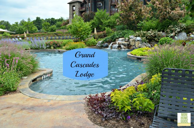 outdoor pool at Grand Cascades Lodge