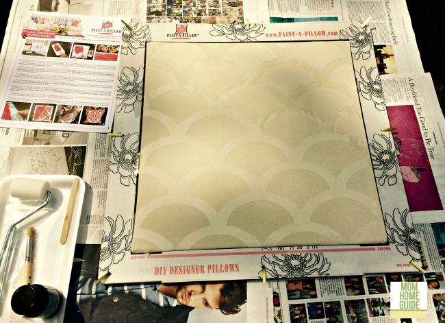 paint a pillow kit