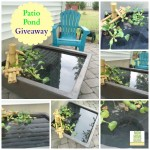 My New Patio Pond & a Patio Pond Giveaway!