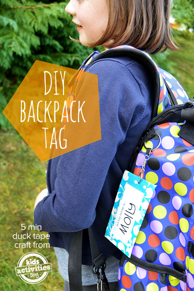 back to school backpack tags