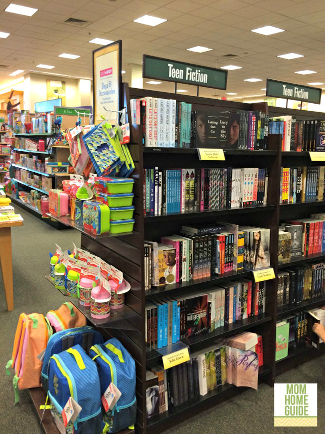 The teen reading section in Barnes & Noble is a great spot for tweens.