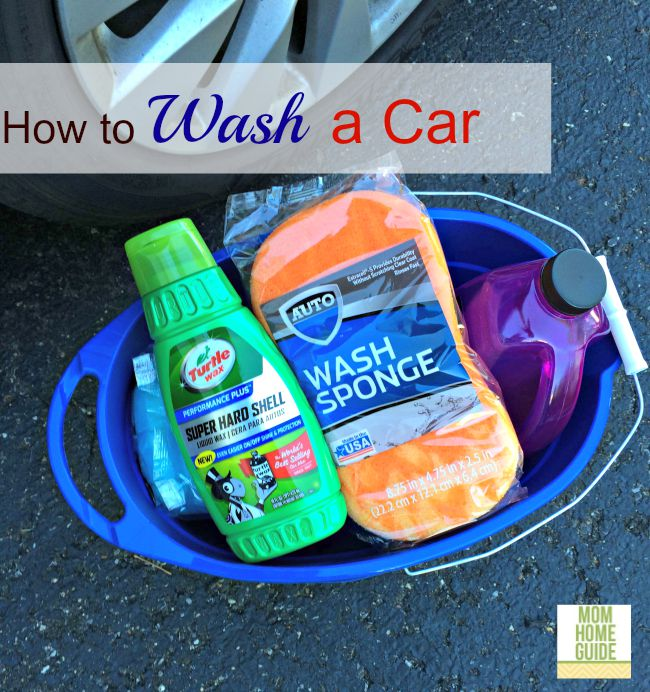It's easy to DIY detail / clean and wash your car on your own!