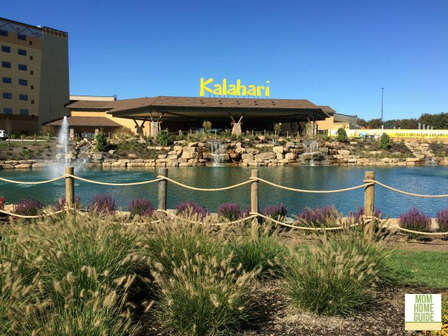 The new Kalahari waterpark resort in the Poconos is a fun family destination!