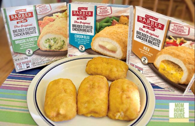new Barber Foods Chicken Kiev recipe #shop