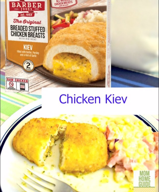 barber foods new recipe chicken kiev #shop