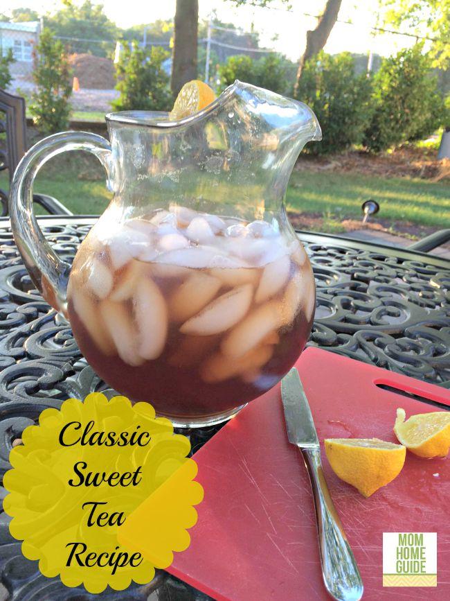 classic sweet tea recipe