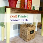 Chalk Paint® Decorative Paint by Annie Sloan Console Table