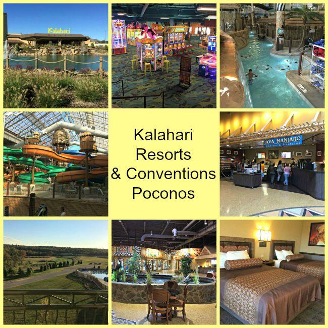 Kalahari Resorts & Conventions in PA's Poconos makes for a fun family vacation!