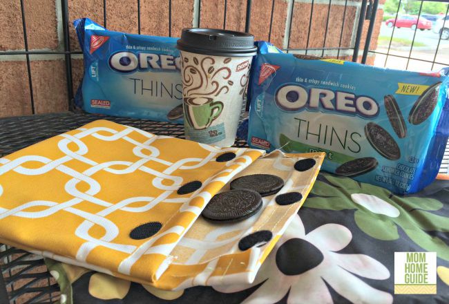 OREO Thins are great for an afternoon coffee break. #shop