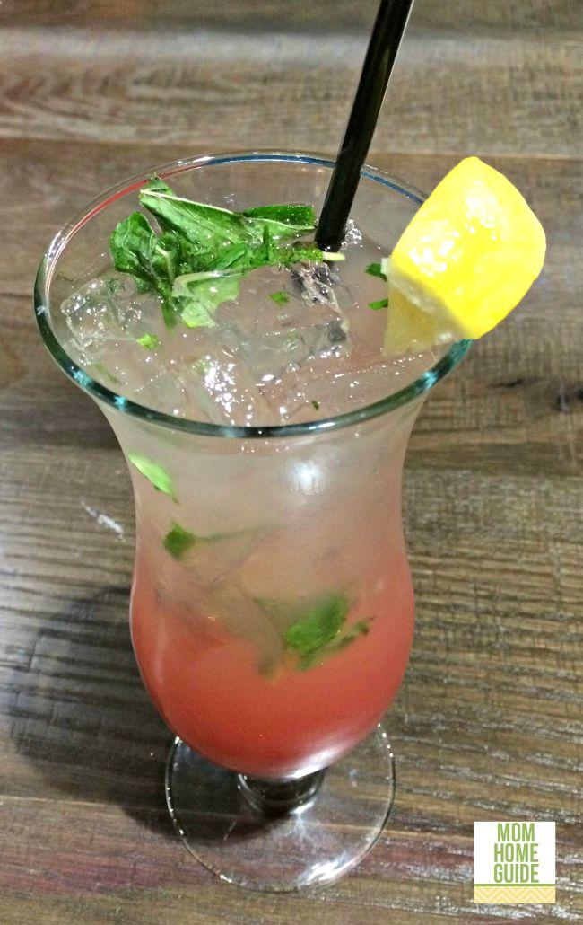 A watermelon mint lemonade from Kalarhari Resorts in the Poconos