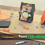 Easy and Quick Halloween Party Tablescape