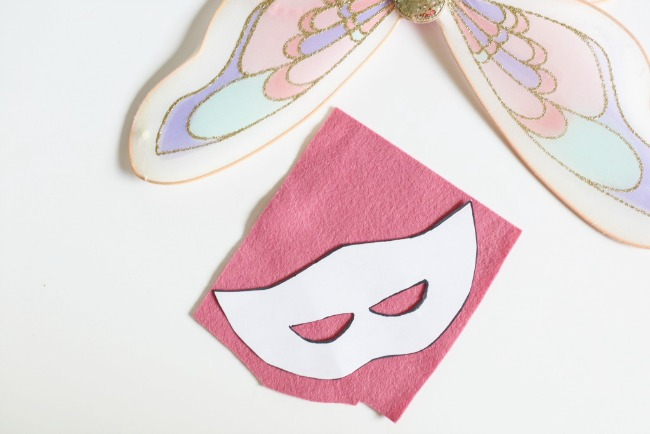 How to make a fairy mask for Halloween