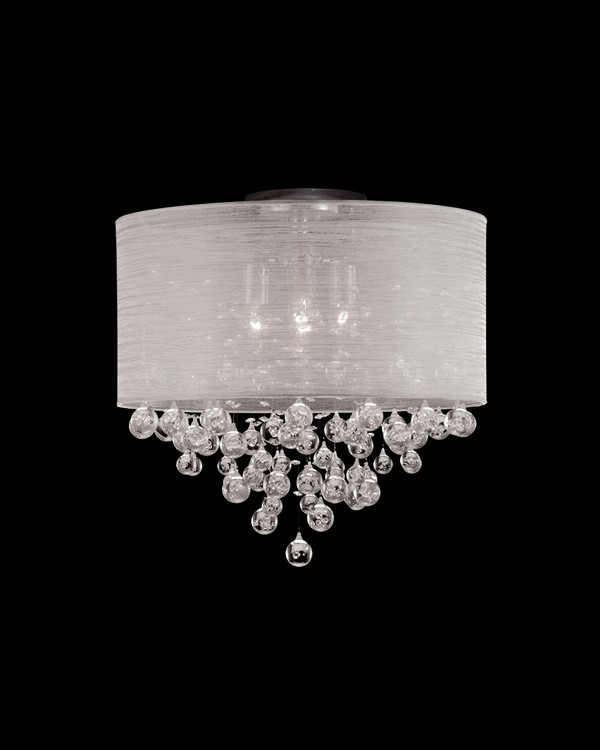 Glass bubbles modern light fixture