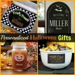 Sweet Personalized Halloween Gifts