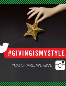 Giving is My Style Charity Campaign