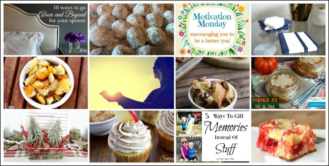 Motivation Monday Linky Party - stop by and link up your project, recipe or craft!