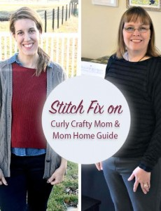 November Stitch Fix review by Mom Home Guide and Curly Crafty Mom