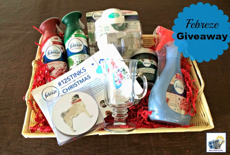 Febreze holiday gift set giveaway