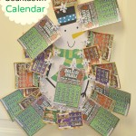 Holiday Countdown Calendar with New Jersey Holiday Instant Games