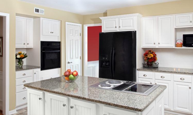 Beautiful budget white kitchen transformation