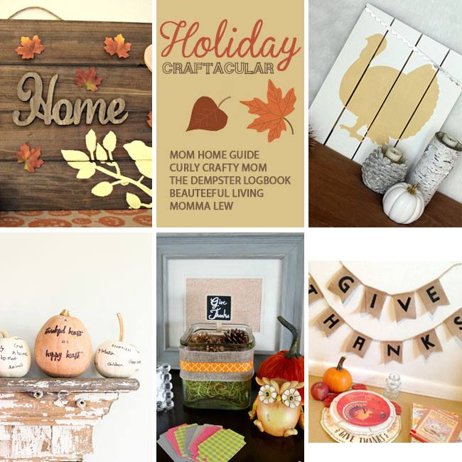 Thanksgiving Holiday Craftacular Blog Hop