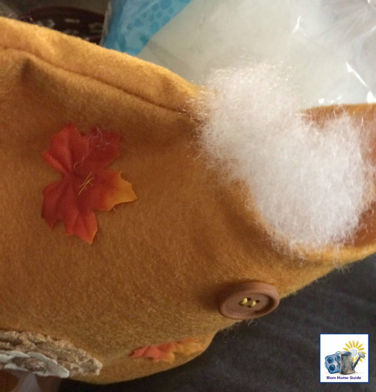 How to sew a quick and easy fall pillow