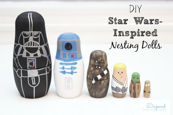 DIY Star Wars inspired nesting dolls