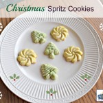 Classic Christmas Spritz Cookies