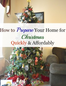 How to quickly and affordably decorate your home for Christmas