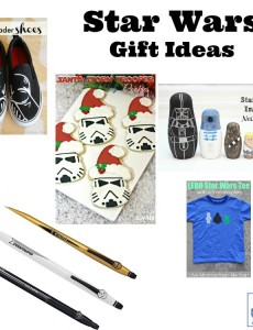 Star Wars gift ideas for Christmas, Hanukkah and the winter holiday season.