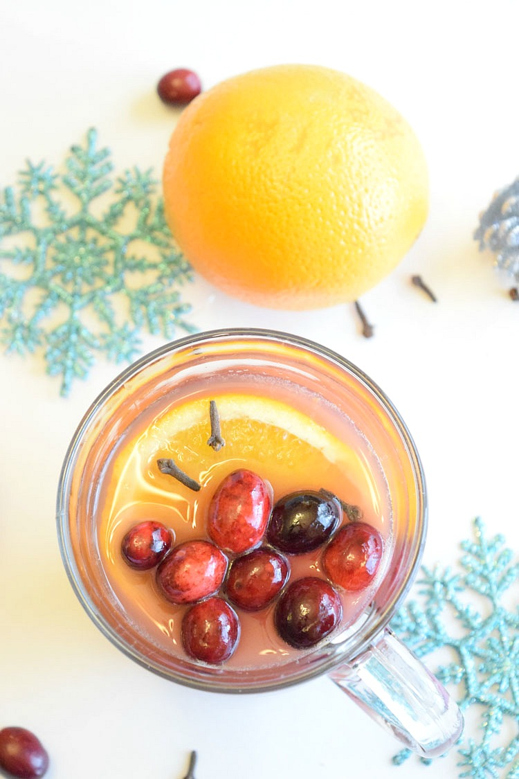 easy slow cooker warm cranberry orange punch recipe