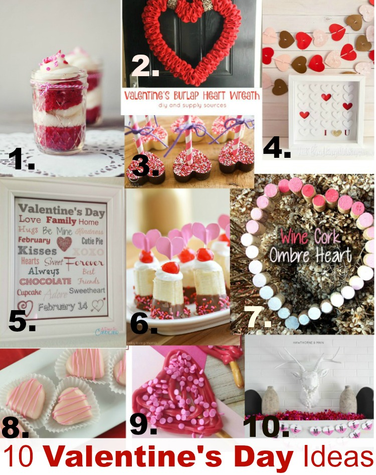 10 lovely craft, recipe and project ideas for Valentine's Day