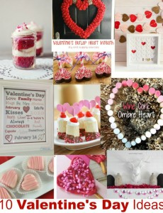 10 lovely craft, recipe and project ideas for Valentine's Day -- I am in love!