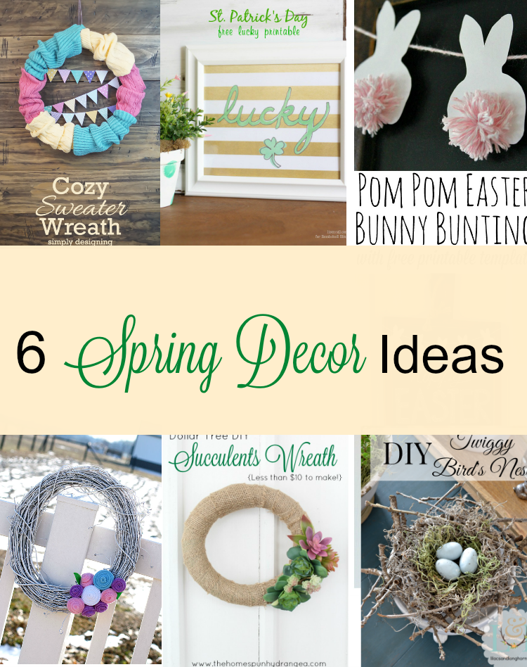 6 beautiful spring decor ideas