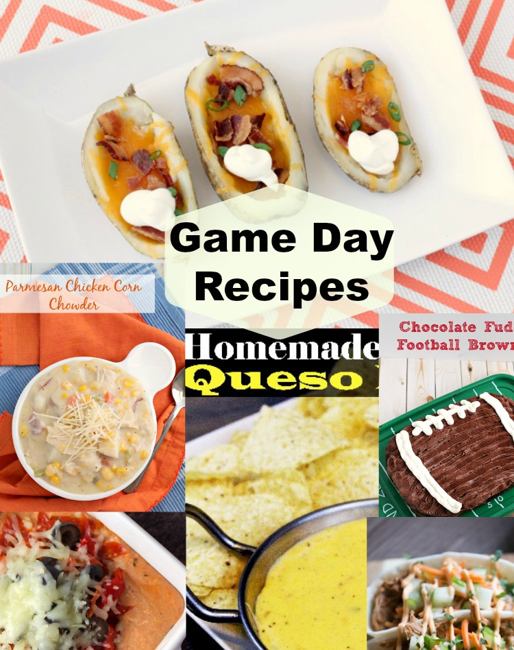 6 game day recipes for the super bowl