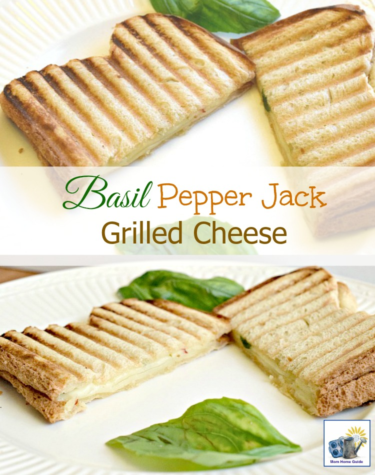 Recipe for how to make pepper jack grilled cheese. Yum!!