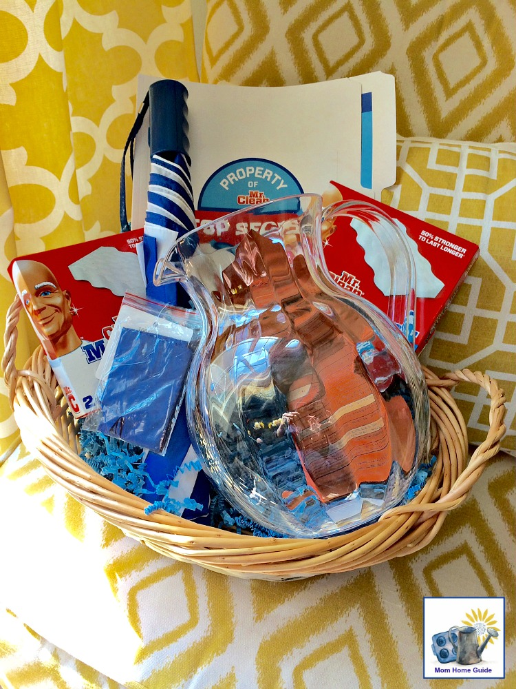 Mr. Clean Magic Eraser spring clean gift basket giveaway