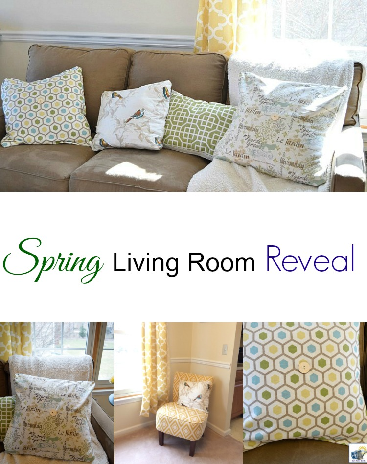 Hometalk spring living reveal - DIYMySpring