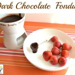 Easy Dark Chocolate Fondue